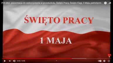 Kocham cię, Polsko! Majowe święta w klasach II