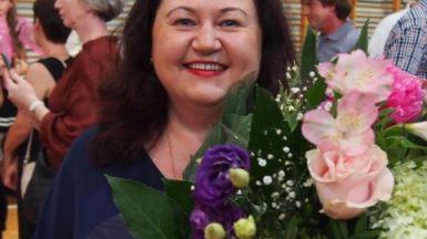 Pożeganie pani Dyrektor Bogumiły Banasiak oraz podziękowanie pani Wicedyrektor Aleksandrze Zapaśnik