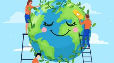 Światowy Dzień Ziemi 2021 r. w klasach pierwszych i trzecich